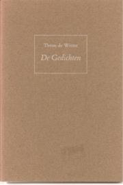 """Winter, Theun de: """"De gedichten""""."""