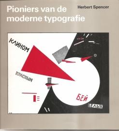 """Spencer, Herbert: """"Pioniers van de moderne typografie""""."""