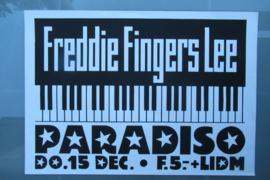 Paradiso: Freddie Fingers Lee