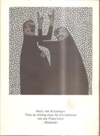 Kruiningen, Harry van: Twee en twintig etsen bij minnebrieven