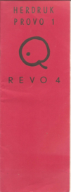 Revo 4 (=herdruk Provo 1) (=Belgische Provo)