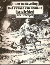 """Oberon Zwartwit Reeks 39: """"Het zwaard van Reinout / Ilse`s erfdeel""""."""