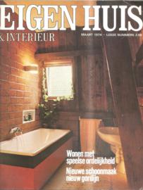 Eigen Huis & Interieur; maart 1974