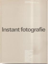 """Catalogus Stedelijk Museum 690: """"Instant fotografie"""""""