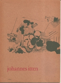 Catalogus Stedelijk Museum 169: Johannes Itten.