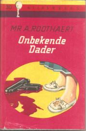 Roothaert, mr. A.: Onbekende dader