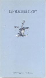 """Roggeveen, Gepko: """"Een slag in de lucht"""". (gesigneerd)"""