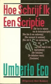 """Eco, Umberto: """"Hoe Schrijf Ik Een Scriptie""""."""