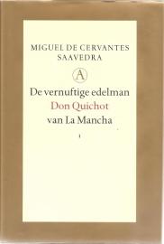 """Cervantes Saavedra, Miguel de: """"De vernuftige edelman Don Quichot van La Mancha"""". (kan nog niet besteld worden)"""