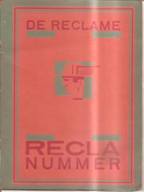 Reclame, de: RECLA nummer (1924)