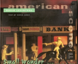 Levinthal, David: American Scene - Small Wonder. Worlds in a box.