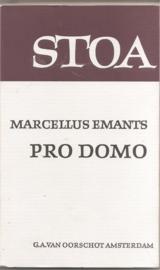 Emants, Marcellus: Pro Domo