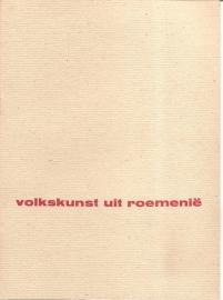 Catalogus Stedelijk Museum 133: Volkkunst uit Roemenië.
