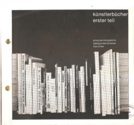 Kretschmer, Hubert: Künstlerbücher, erster Teil.