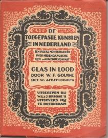 """Gouwe, W.F.: """"Glas in lood`."""