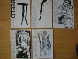 Beeld: tijdschrift voor kunst, kunsttheorie en kunstgeschiedenis  jaargangen 1, 2 en 3 compleet.