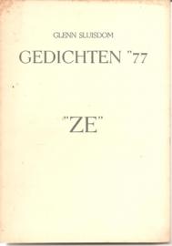 "Sluisdom, Glenn: ""Gedichten '77"". (gesigneerd)"