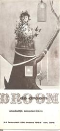 Catalogus Stedelijk Museum 296: De Droom (vouwblad)