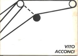 Catalogus Stedelijk Museum 647: Vito Acconci