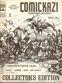 Comickazi; issue no. 1