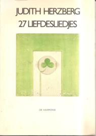 Herzberg, Judith: 27 Liefdesliedjes