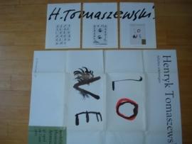 Catalogus Stedelijk Museum 748: Henryk Tomaszenski.