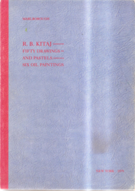 Kitaj, R.B.: Fifty drawings and pastels  six oil paintings