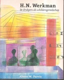 """Werkman, H.N. """"De drukpers als schildersgereedschap"""". *"""