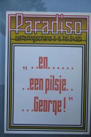 Paradiso  en een pilsje, George! .....