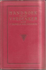Domela Nieuwenhui, F.: Handboek van den vrijdenker