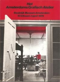 Catalogus Stedelijk Museum 650: Het Amsterdams Grafisch Atelier.