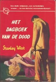 """West, Stanley: """"Het dagboek van de dood""""."""