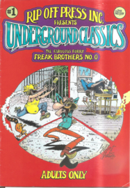 Underground Classics no. 1: The Fabulous Furry Freak Brothers no 0