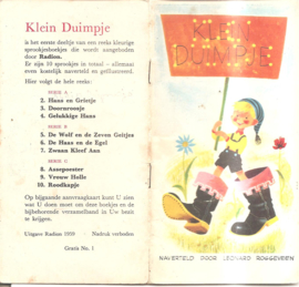 Roggeveen, Leonard: Klein Duimpje