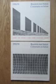 Bouwen met beton 90/91 en 92/93 samen
