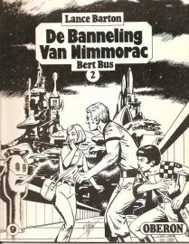 """Oberon Zwartwit Reeks 09: """"De Banneling van Nimmorac 2""""."""