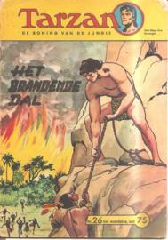 Tarzan no. 26: Het brandende dal
