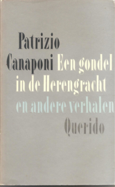 Heijden, A.F. Th. van der (onder de naam  Patrizio Canaponi): een gondel inde Herengracht