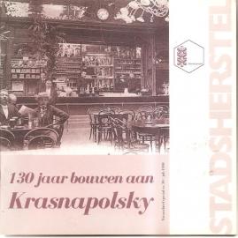 Vereniging Vrienden van Stadsherstel: 130 jaar bouwen aan Krasnapolsky