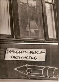 """Rauschenberg, Robert: """"Photographs""""."""