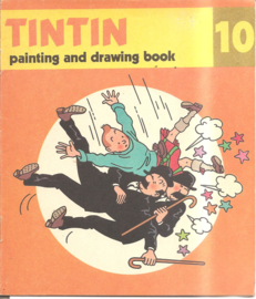 Kuifje: Tintin painting and drawing boook 10