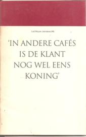 Wagenaar, Leonnoor  'In andere café's is de klant nog wel eens koning'