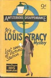 "Tracy, Louis: ""A mysterious disappearence`."