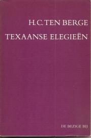 """Berge, H.C. ten: """"Texaanse elegieen""""."""
