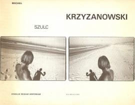 Catalogus Stedelijk Museum 655: Michiel Szulc Krzyzanowski