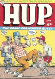 HUP The comic for modern guys. no. 4