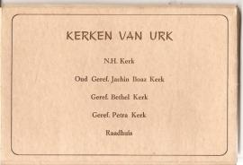 """Urk: """"Kerken van Urk""""."""