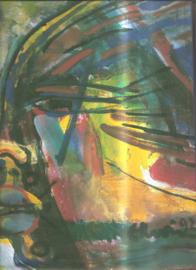 Vries, Erwin de: Beelhouwer - schilder 1948-1998 (gesigneerd, met originele tekening