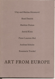 "Catalogus Tate Gallery: ""Art from Europe""."