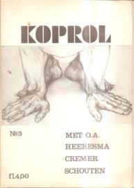 Koprol; nummers  3 en 4
